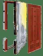 wooden-steel-door